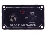 Switch Panel, for Bilge Pump 3-Way with Light