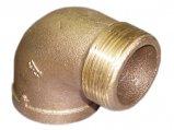 Elbow, Brass 1″ Male Female 90º Non Tapered