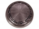 Dome Light, 3″ Stainless Steel Cover 4″ Base