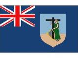Flag, Monserrat 20 x 30cm
