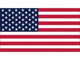 Flag, USA 20 x 30cm