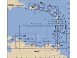 Chart, Martinique South & East Coast