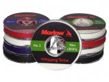 Whipping Twine, Waxed Thin#2 0.5mm White Spool/92m