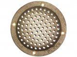 Hull Strainer, Round oØ:4″ Bronze for 1.25&1.5″ Thru-Hull