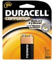Alkaline Battery, 9V Square