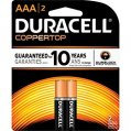 Alkaline Battery, Type:AAA 1.5V 2 Pack