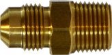 Connector Flare 1/4 x 1/4Mpt Brass