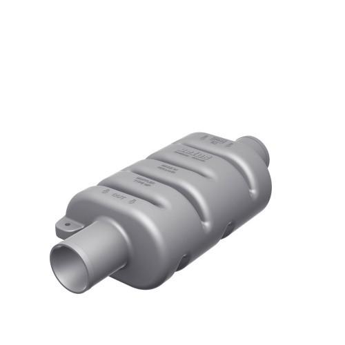 """Muffler, Plast MPØ:45mm  1-3/4"""" 3"""