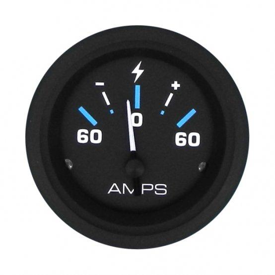 """Ammeter, 60A-0-60A Internal Shunt Ø:2"""" 3"""