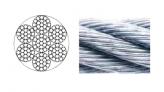 Wire, Galvanize 7×19 10mm Minimum Breaking Load:5990kg per Foot