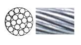 Lifeline Wire, Stainless Steel 1×19 04/06mm per Foot