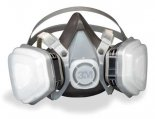 Respirator, Half-Face Size Medium 52P71