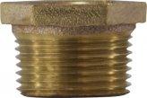 Pipe Bushing, 1.25Mal x 1/2Fem Tapered Brass
