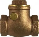 Check Valve, Swing 1″ NPT Female Tapered Cast Bronze