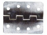 Hinge, Stainless Steel Length:101 Sq&Sq Open Width:82mm 8Hole