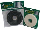 Foam Tape, Vinyl Black for Hatch Thickness: 3mm Width: 19mm Length: 3m