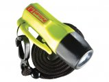 Flashlight, LED L1 Water Resist Tail-Switch Yellow with 4xLR44