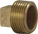 Plug, Sq Head Bronze 2″ NPT Male Tapered