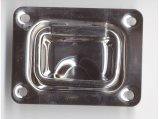 Lift Handle, Stainless Steel Rectangle 57 x 76mm Stamped