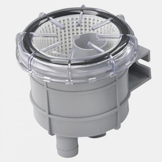 Strainer, Raw-Water Type:140 f/Hose:13mm 3