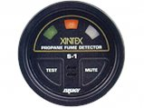 Propane Detector, 2″ Dia. Inc Sensor+ Cable:20′