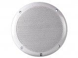 Speaker Set, Round 6″ Coaxial White 80W  Pair