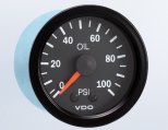 Pressure Gauge, Oil Mechanical 0-100PSI Vision