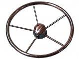 Steering Wheel, Stainless Steel Ø:13.5″ 5Spokes at 25º