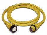 Extension Cord, 50A 125/250V 6ga Length:50′