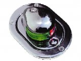 Navigation Light, Bicolor Series 24 Stainless Steel Hideaway 12V