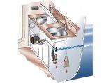 Fridge Unit, SP 260Lt 12/24V W-Cool Flat Evaporator