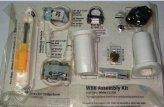 Skin Pack Assembly, WalkerBay8 Kit White