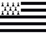 Flag, Brittany 20 x 30cm