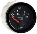Voltmeter, 24V Cv Black Vision