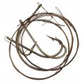 Rig, Ballyhoo 7/0 with Bronze Wire Leader 3 Pack
