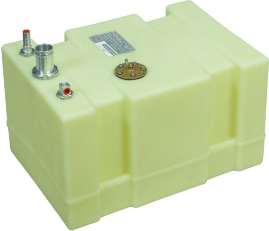 """Fuel-Tank, Below-Deck 12Gal L:20 W:14 H:12"""" 3"""