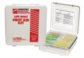First Aid, Waterproof Box Kit:24Pk for Lifeboat US Coast Guard Approved
