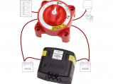Battery Switch+Charge Relay, Add A Kit 120Amp