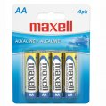 Alkaline-Battery, Typ:AA 1.5V 4/Pk
