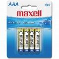 Alkaline-Battery, Typ:AAA 1.5V 4/Pk