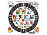 Sticker, Vinyl Plastic for Racing-Signals-Id #207