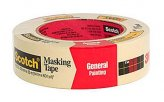 Masking Tape, Tan Width 1.41″ Length:60Yd Scotch #2050