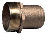 Hose Barb, Bronze PTH Hose: 2″ Pipe:2″Mpt