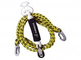 Tow Harness, Self-Centering Rope:12′ for 1-4 Riders