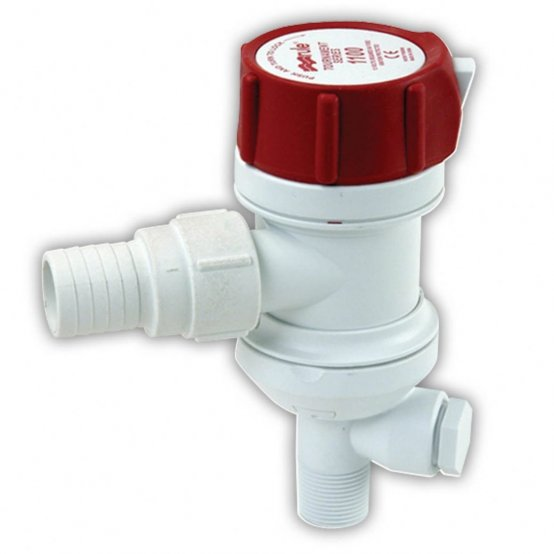 Livewell-Pump, Seacock Fitting 1100GpH Tournament 3