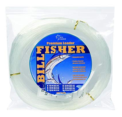 Leader Coil, 150Lb Monofilament Clear 1.3mm 3