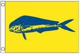 Flag, Dolphin 12″ x 18″