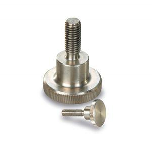 Knob-Screw,SS Hi-Knurled Thumb M6 x 25mm 3
