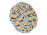 LED Bulb, G4 10-30V WW 3.2W BackPin 25W Equivalent