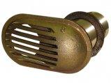 Intake Strainer, Brass Thru-Hull:1/2″ Non-Tapered Thread